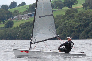 Andy Bayliss at Bala Sailing Club
